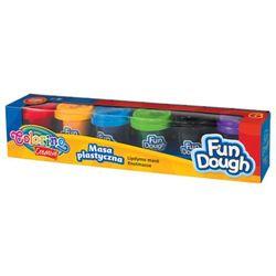 Masa plastyczna Colorino kids 6 kolorów