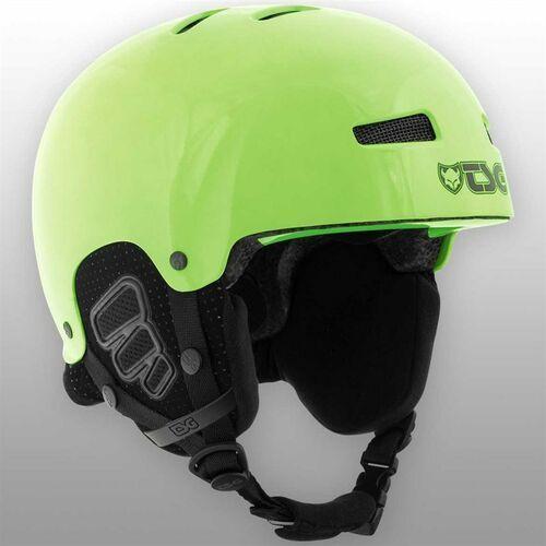 Kaski i gogle, kask dla dzieci TSG - Gravity Youth Solid Color Gloss Neon Green (228)
