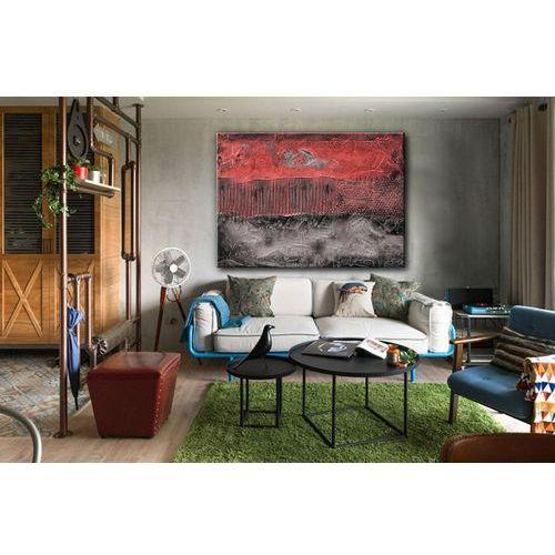 """Obrazy, Stylowy obraz nowoczesny """"Czerwona eksplozja""""   obrazy abstrakcyjne rabat 10%"""