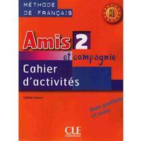 Książki do nauki języka, Amis Et Compagnie 2 Ćwiczenia A1 (opr. miękka)