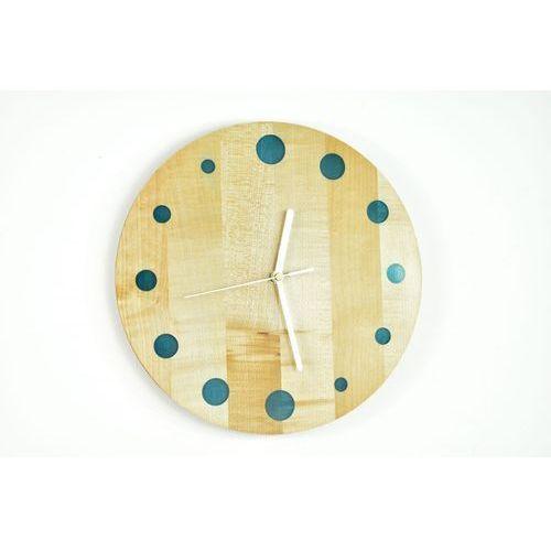 Zegary, Epoxy Clock - Refill - Zegar ścienny z żywicą Jawor