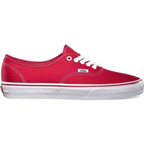 Męskie obuwie sportowe, buty VANS - Authentic Red (red) rozmiar: 44