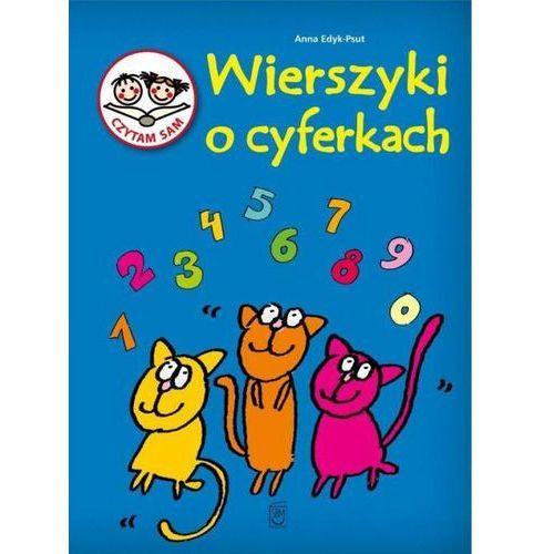 Książki dla dzieci, Czytam sam. Wierszyki o cyferkach / SBM - Edyk- Psut Anna (opr. twarda)
