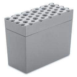 Pojemnik na pieczywo chrupkie BRØD, chlebak - kolor szary, KOZIOL