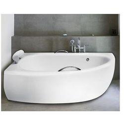 Besco Milena obudowa do wanny 150 cm lewa biała OAM-150-NL