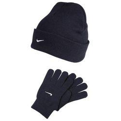 Nike Performance SNOW RUNNER SET Rękawiczki pięciopalcowe obsidian