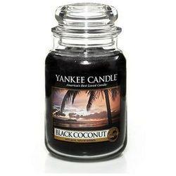 Yankee Candle Black Coconut aromatyczna świeca zapachowa słoik duży 623 g