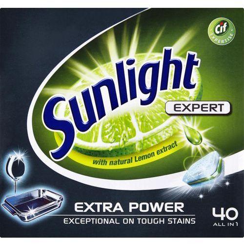 Kostki do zmywarek, Unilever SUNLIGHT Tabletki do zmywarki (669972) Darmowy odbiór w 20 miastach!