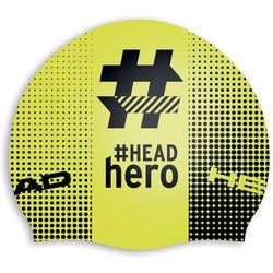 Head Hashtag Silcone Suede Czepek pływacki żółty/czarny 2018 Czepki pływackie Przy złożeniu zamówienia do godziny 16 ( od Pon. do Pt., wszystkie metody płatności z wyjątkiem przelewu bankowego), wysyłka odbędzie się tego samego dnia.