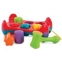 Pozostałe zabawki dla najmłodszych, Playgro Ławeczka do wbijania klocków - BEZPŁATNY ODBIÓR: WROCŁAW!