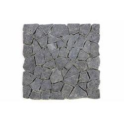 Mozaika kamienna brukowa z andezytu szara
