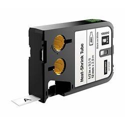 Taśma DYMO XTL 2,7m rurki termokurczliwej ciągłej (12 mm) na kabel o Ǿ Min. 2.6mm – Max. 7.6mm, czarny na białym, 1868810 Dystrybutor DYMO! Oryginał
