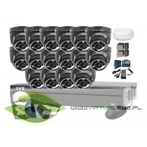 Zestawy monitoringowe, Zestaw do monitoringu: BCS-XVR1601 + 16x Kamera BCS-DMQE3200IR3+ Dysk 1TB + Akcesoria