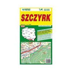 Szczyrk mapa samochodowa 1:17 000 - Wydawnictwo Kartograficzne OD 24,99zł DARMOWA DOSTAWA KIOSK RUCHU