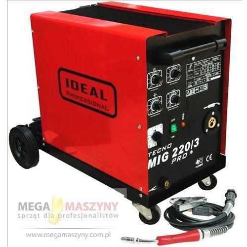 Migomaty i półautomaty spawalnicze, IDEAL Półautomat spawalniczy MIG-MAG TECNOMIG 220/3 PRO