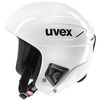 Kaski i gogle, Uvex Race + Biały 55-56 cm 2016-2017 nowe uvex (-20%)