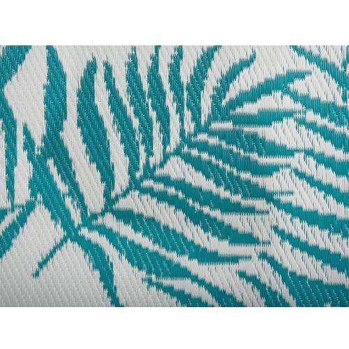 Dywany, Dywan na zewnątrz niebieski 120 x 180 cm dwustronny KOTA