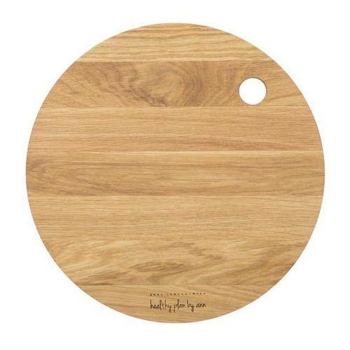 Deski kuchenne, Healthy Plan by Ann - Deska do krojenia okrągła średnica: 27 cm