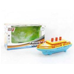 Łódka ze światłem i dźwiękiem 32 cm