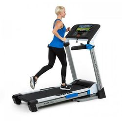 CAPITAL SPORTS Pacemaker X60 bieżnia treningowa 2,5/6,5 KM puls LCD czarna/biała