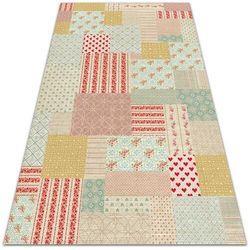 Tarasowy dywan zewnętrzny Tarasowy dywan zewnętrzny Kolorowy patchwork