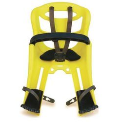 Fotelik rowerowy BELLELLI Tatoo Plus Żółty DARMOWY TRANSPORT