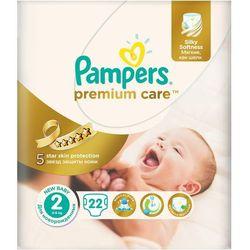 Pieluchy jednorazowe PAMPERS Premium Care 2 Mini 3-6 kg (22 sztuki)