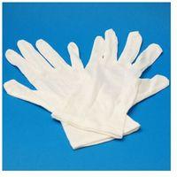 Rękawice ochronne, Rękawiczki bawełniane 1 para roz. 8 - S