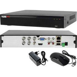 Rejestrator monitoring 4 kanałowy hybrydowy KEEYO LV-XVR44SE