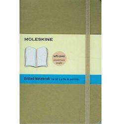 Notes P Moleskine Classic w kropki beżowy