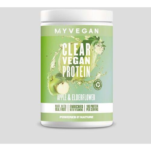 Odżywki białkowe, Czyste Białko Wegańskie - 640g - Apple & Elderflower