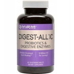 MRM DIGEST-ALL IC 60kap Probiotyk & Enzymy Trawienne