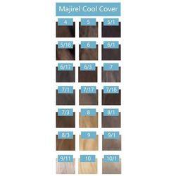 Loreal majirel cool cover farba zimne odcienie chłodnych blondów 50ml + oxydant 75ml 4 brąz 6 % - 20 vol.