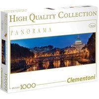 Puzzle, Puzzle Clementoni High Quality. Panorama. 1000 elementów. Rzym (39343) + zakładka do książki GRATIS