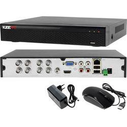 LV-XVR84S8 Rejestrator monitoring 8 kanałowy hybrydowy KEEYO