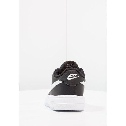Półbuty i trzewiki dziecięce, Nike Sportswear FORCE 1 Półbuty wsuwane black/white