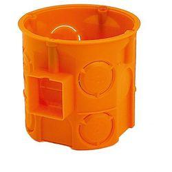 Puszka podtynkowa Simet 60mm głęboka pomarańczowa opakowanie 110 sztuk S60DF 33057008