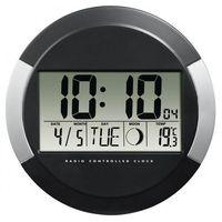 Zegary, Hama Zegar elektroniczny ścienny DCF PP-245