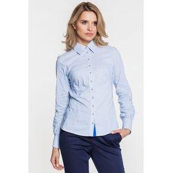 Koszula błękitna w prążki - Duet Woman