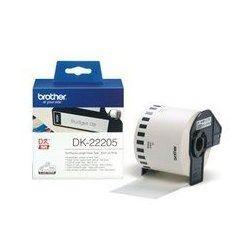 Taśma Brother Removable White Paper Tape 62mm x 30.48m DK44205 - odbiór w 2000 punktach - Salony, Paczkomaty, Stacje Orlen