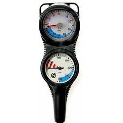 Konsola Scubatech S-Tech Combo IIG, manometr + głębokościomierz - 18104-1
