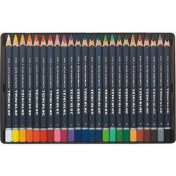 Kredki Triocolor trójboczne 24 kolory metalowa kasetka - Koh-I-Noor