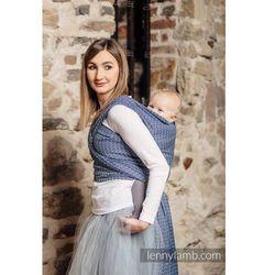 Żakardowa chusta do noszenia dzieci - LITTLE LOVE - AQUA - Rozmiar S LennyLamb