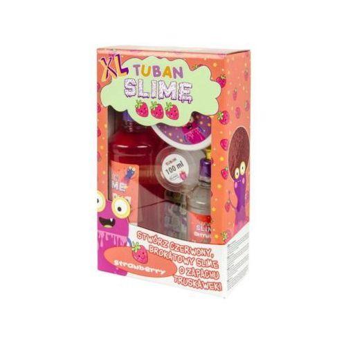 Kreatywne dla dzieci, TUBAN ZESTAW SUPER SLIME XL TRUSKAWKA BROKAT