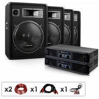 """Głośniki i monitory odsłuchowe, Electronic-Star Kompletny zestaw PA DJ """"Miami Quasar Pro"""""""