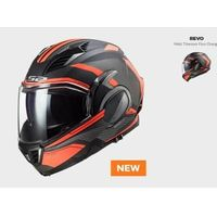Kaski motocyklowe, KASK MOTO LS2 FF900 VALIANT II REVO TITAN ORANGE nowość 2021 roku