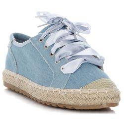 Stylowe Espadryle Damskie Tenisówki marki Bellucci Jasny Jeans (kolory)