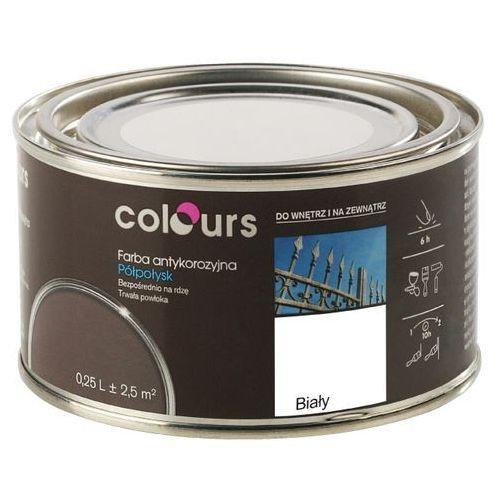 Farby, Farba antykorozyjna Colours biała 0,25 l