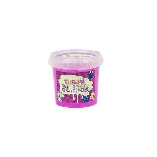 Kreatywne dla dzieci, Slime brokat neon fioletowy 1kg TUBAN