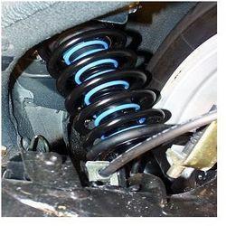 Sprężyny wzmacniające zawieszenie - Westfalia Power Springs - Fiat Doblo II (02/10-)